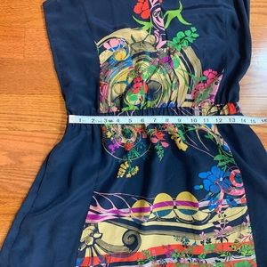 Anthropologie Dresses - Anthropologie Leifnotes Silk Lilium dress size 2